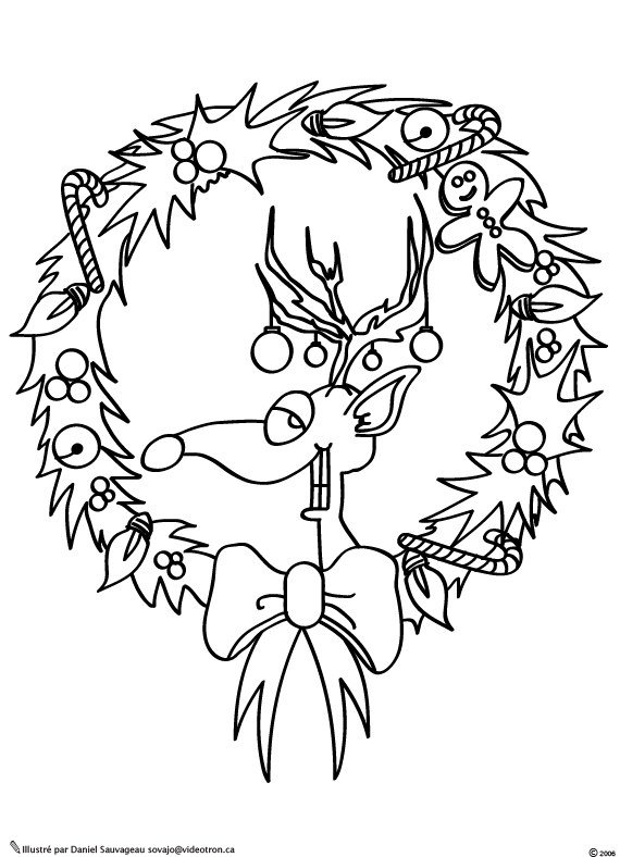 Coloriage couronne